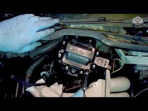 how to change a distributor cap rotor cap on a corvette c4