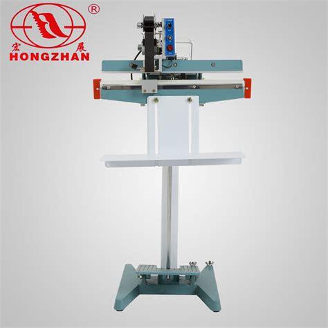 china film sealing machine pedal sealer plastic  laminating bag manual double sides heat seal