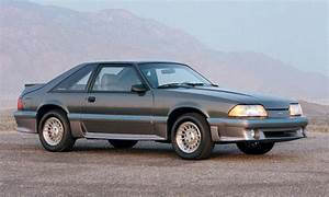 Ford Mustang History  1987
