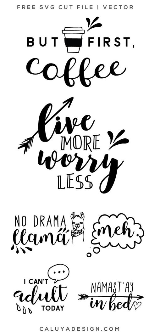 funny quotes svg png eps dxf  cricut projects