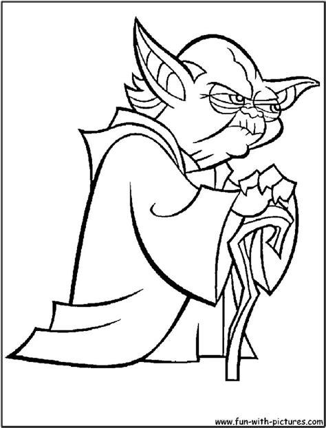 star wars yoda coloring pages   print