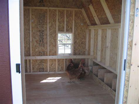 chicken coop interior layout