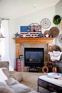 Quick, Red, White, And, Blue, Home, Decor, U2022, Whipperberry