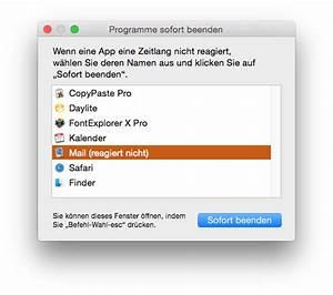 App Reagiert Nicht : was tun wenn apple mail einfriert h ngt oder nicht reagiert ~ Orissabook.com Haus und Dekorationen
