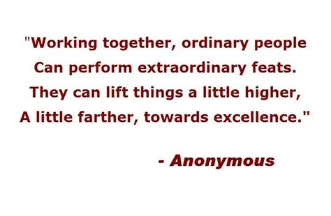 Working Together Quotes Quotes About Working Together Quotesgram