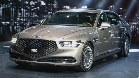 genesis  luxury flagship sedan youtube
