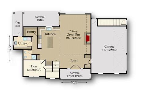 township barn house plan  mark stewart home design