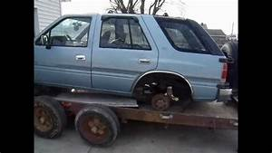 Scrapping Out A 1992 Isuzu Rodeo 3 1 V6 Automatic 4x4  365 Scrap Price In Weight