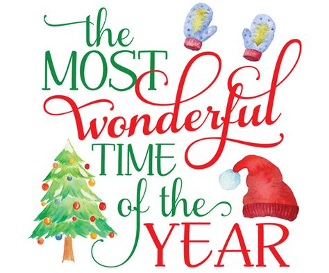Most Wonderful Time Christmas Print   ninety6nine   chic & unique home decor