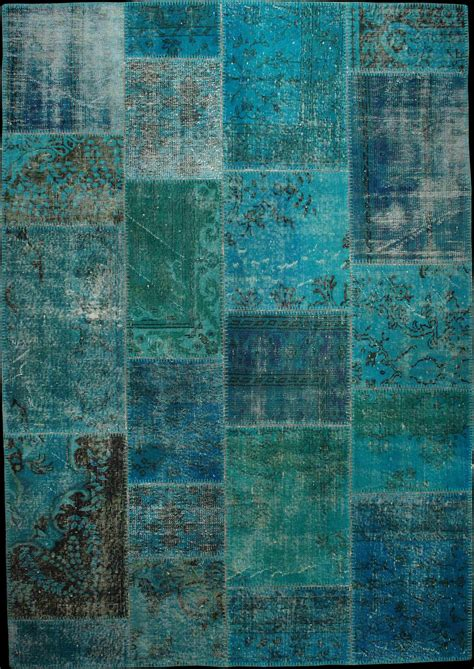 tapis bleu dekoration mode fashion