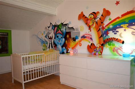 chambre bébé tigrou davaus graffiti pour chambre garcon avec des idées