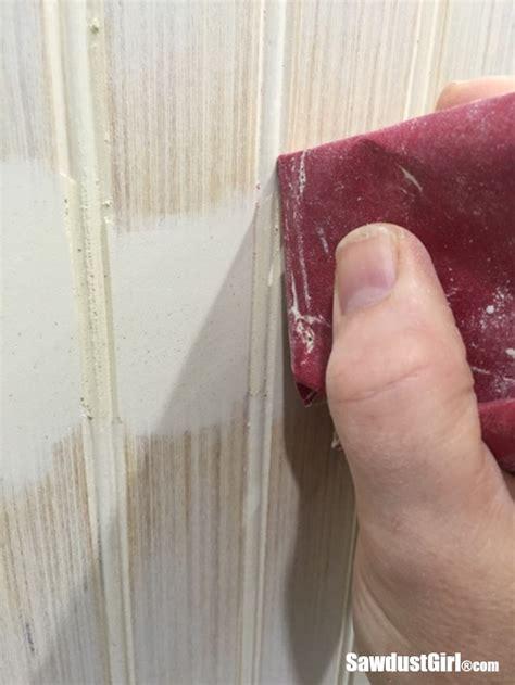 hide seams  beadboard sawdust girl