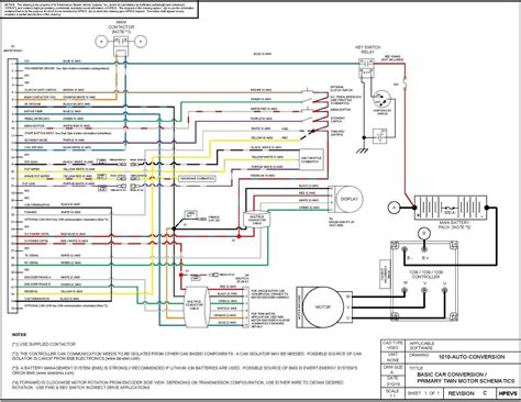 Conversion Schematic New Electric Vehicle Wiring
