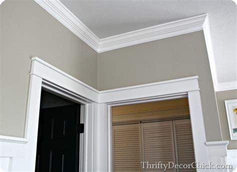 chunky door trim how to install farm house