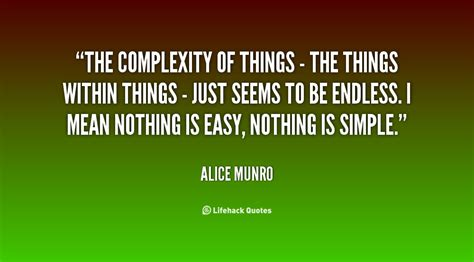 Complexity Of Life Quotes