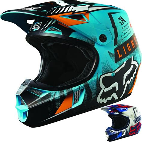 dirt bike helm dp fox racing v1 vicious youth motocross helmets 2016