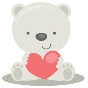 Valentine Clip Art Polar Bears