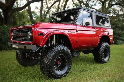 flat top griddle 1976 ford bronco by velocity restorations hiconsumption