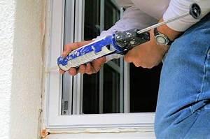 Joint Silicone Exterieur : isoler sa fen tre pvc contre le bruit du vent ~ Melissatoandfro.com Idées de Décoration