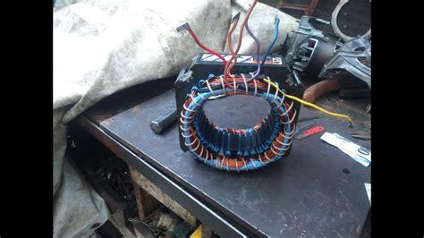 bobinado motor 2 velocidades cambio aluminio por cobre youtube