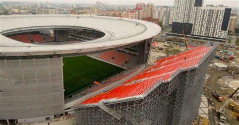 surreal   russian stadium  added seats