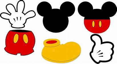 Mickey Mouse Head Minnie Transparent Clipart Clothes