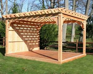 Costco Cedar Pergola Kits Backyard Patio Pavilion Pergola