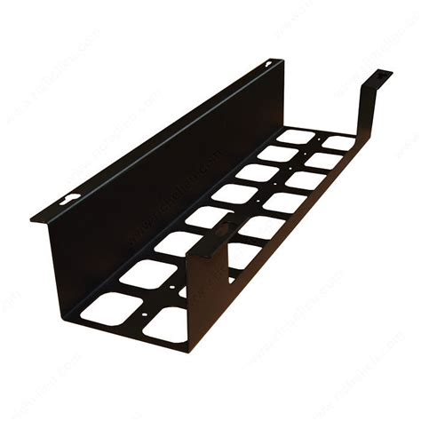desk cable management tray u box cable holder richelieu hardware