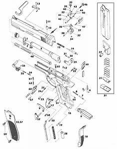 Pistola Smith Wesson Master 52  Mod 52 M