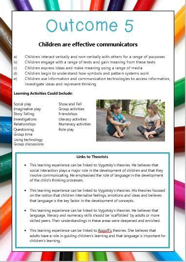 designed by teachers 187 new eylf posters with outcomes 842 | 0d8dab0e006707f43f965823b255622c