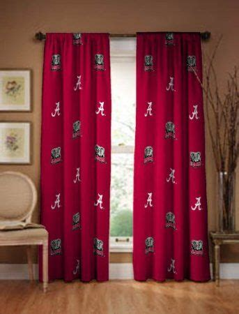 amazoncom alabama crimson tide curtain panel  gotta