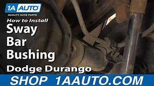 How To Replace Sway Bar Bushing 98