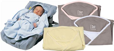 couverture siège auto bébé couverture multi usages castle babynomade polaire