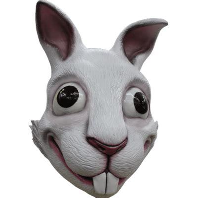 funny rabbit mask transparent png stickpng