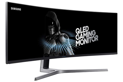 best samsung monitor for gaming samsung lc49hg90 49 quot qled screen gaming monitor