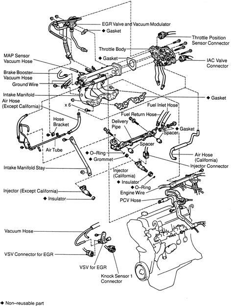 repair 1998 toyota camry v6 engine diagram