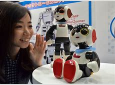 Tomy shows off $140 Robi jr singing humanoid robot for
