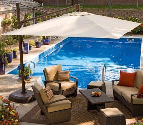 contemporary patio umbrellas to improve your backyard