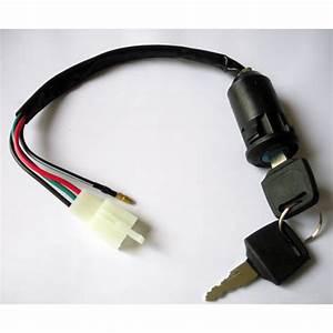 10x Universal Ignition Switch Key 4 Wire 50cc 70cc 90cc