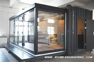 Modular Extendable Container Hotel Room Modular Pod