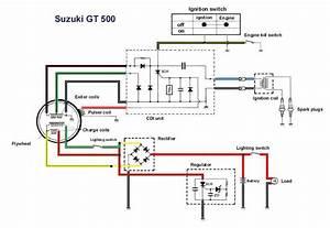 Suzuki Gt500 Wiring Loom