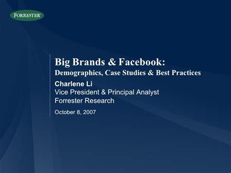 Big Brands Facebook Demographics Case Studies Best