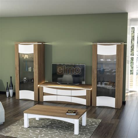 cuisine bicolore ensemble salon contemporain bicolore meuble tv table basse