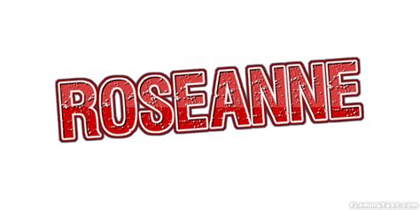 Roseanne Logo  Free Name Design Tool From Flaming Text. Bug Bite Signs. Weapon Signs Of Stroke. In Memory Stickers. Holiday Shopping Banners. Alumni Association Banners. Totoro Stickers. Hindi Literature Logo. Kids Murals