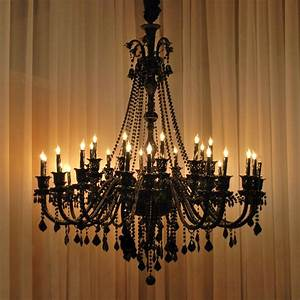 Large chandeliers crystal