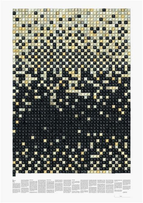2015 typographic wall calendar harald geisler