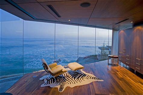 bedroom views glass walls exquisite ocean front