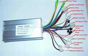 Greentime 36v  48v 500w  600w 30amax Bldc Motor Controller