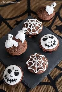 Halloween Muffins Rezepte Mit Bild : einfach halloween muffins dekorieren ~ Frokenaadalensverden.com Haus und Dekorationen