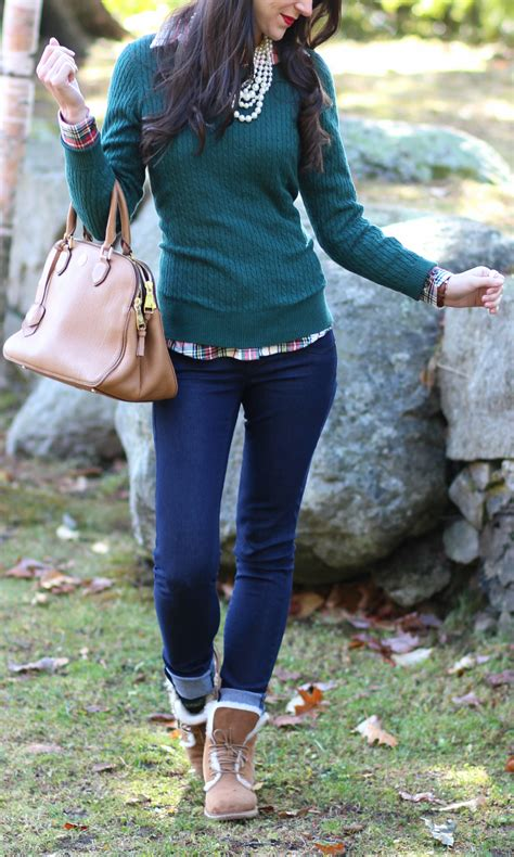 Chestnut Ugg Boots Outfit